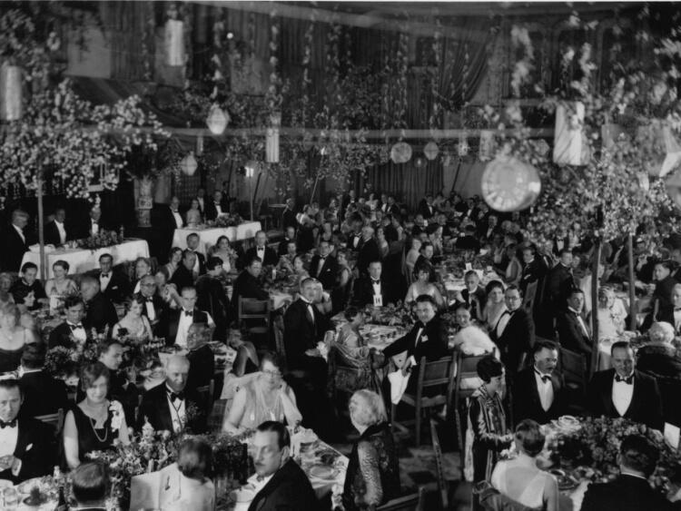 jedna z pierwszych ceremonii wręczenia Oscarów