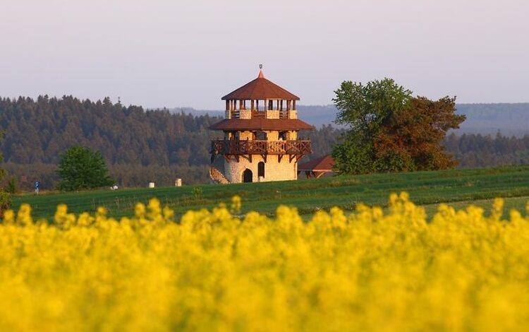 wieża widokowa w Suścu na RoztoczuR