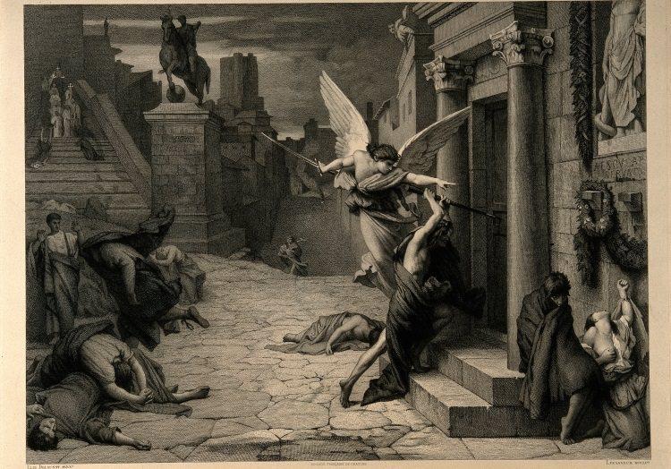 anioł śmierci epidemia