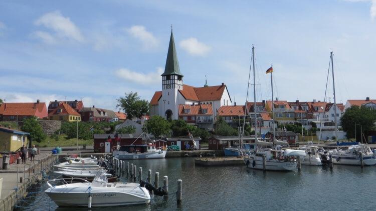 port w Rønne - Bornholm