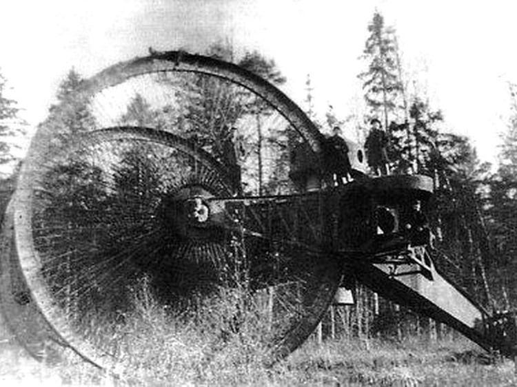 rosyjski car tank