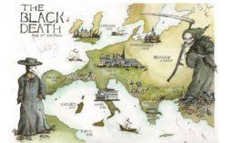 Czarna śmierć w Europie w XIV wieku