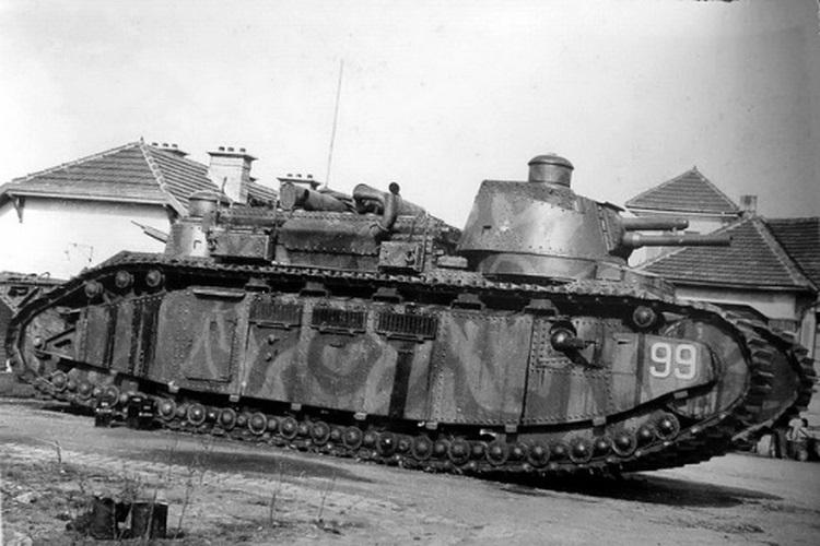 Char 2C – superciężki czołg francuski opracowany w czasie I wojny światowej