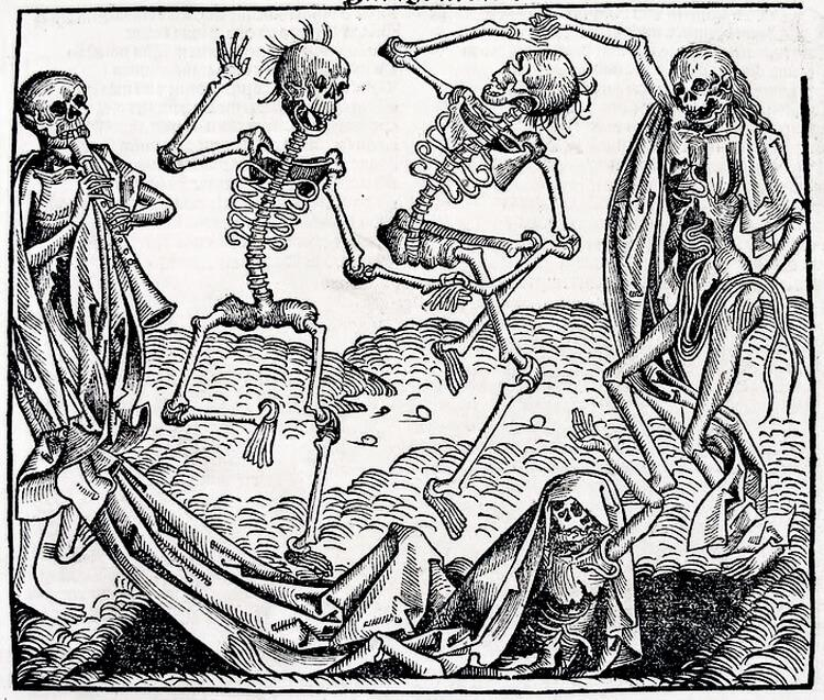 Taniec śmierci w sztuce