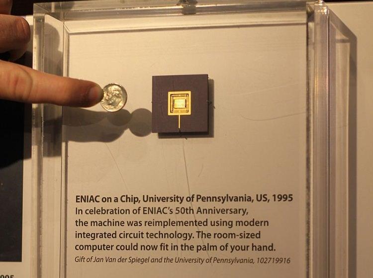 ENIAC jako układ scalony