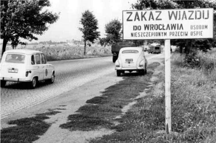 epidemia ospy we Wrocławiu