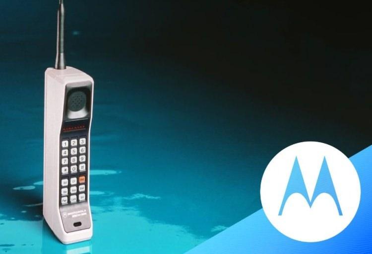 pierwszy telefon komórkowy - Motorola DynaTAC