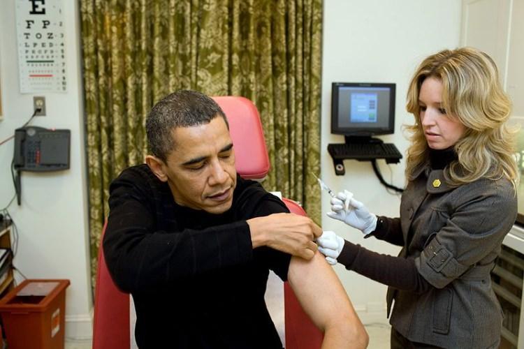 Barack Obama szczepionka