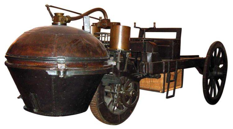 Pojazd Cugnota z 1771 roku
