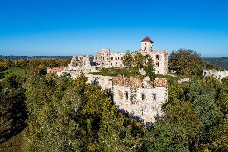 Zamek w Rudnie