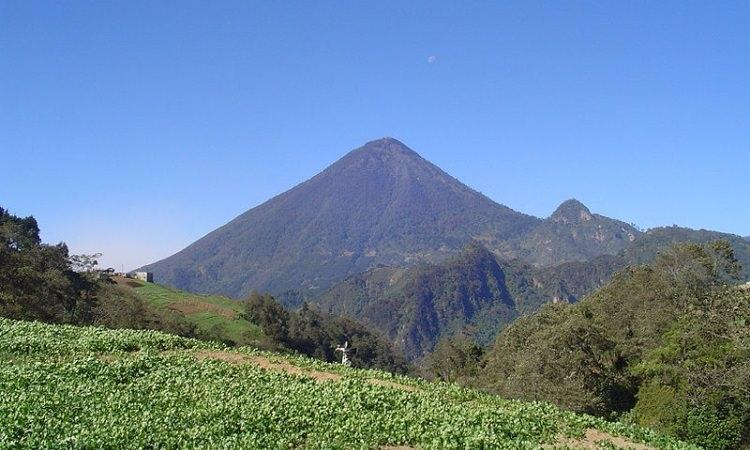 wulkan Santa María