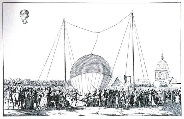 Balon Jean-François Pilâtre de Rozier'a