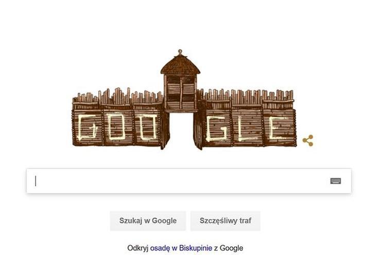 Biskupin- google doodle