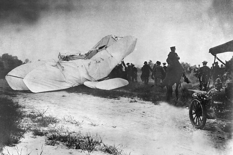 wypadek samolotu braci Wright z 1908 roku