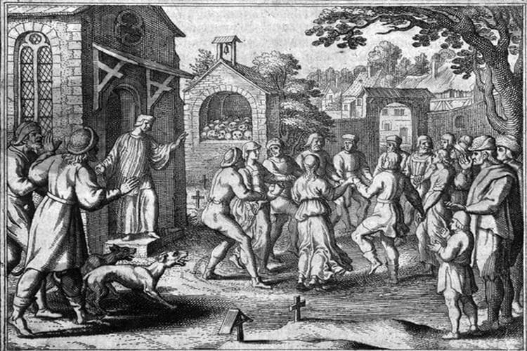 epidemia tańca