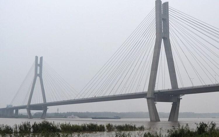 most Runyang w Chinach