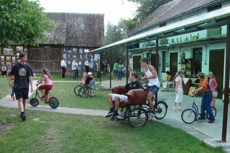 muzeum nietypowych rowerów Gołąb koło Puław
