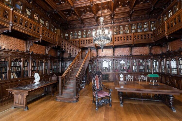 Ermitaż - biblioteka cara Mikołaja II Romanowa