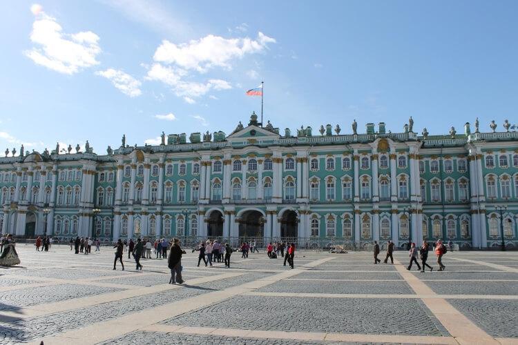 Ermitaż - jedno z największych muzeów świata
