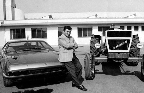Ferruccio Lamborghini, Lamborghini Jarama produkowany w latach 1970 - 1976 oraz traktor marki Lamborghini