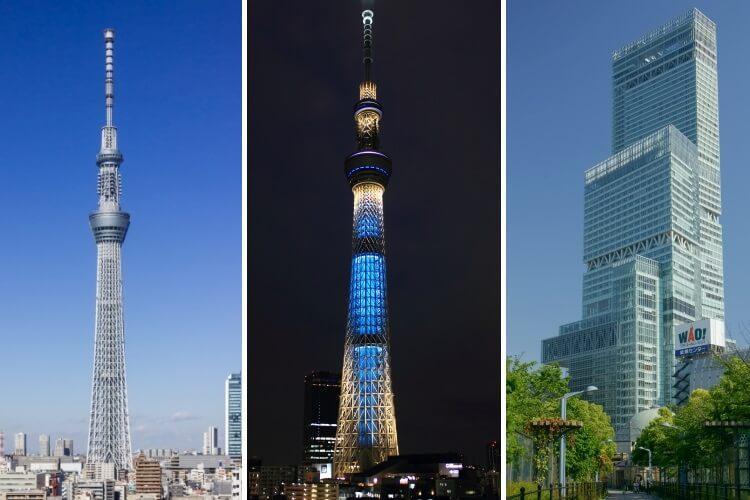 najwyższe budynki w Japonii