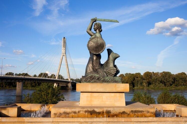 Pomnik Syreny w Warszawie (Powiśle)