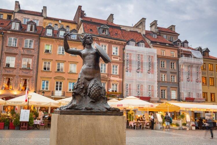 Pomnik Syreny w Warszawie (Stare Miasto)