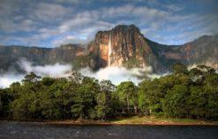 Salto Angel, Wenezuela - najwyższy wodospad na świecie