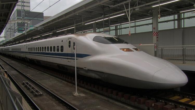 shinkansen pociąg pospieszny japonia