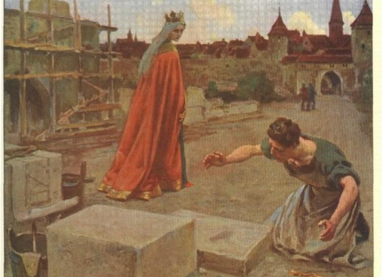 Piotr Stachiewicz Stopka Królowej Jadwigi