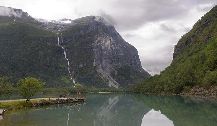wodospad Ramnefjellsfossen Norwegia