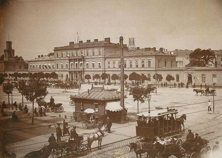 Dworzec Wiedeński w Warszawie