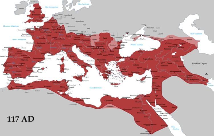 imperium rzymskie za czasów cesarza Trajana