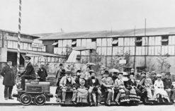 Pierwsza na świecie kolej elektryczna, konstrukcji W. von Siemensa z 1879 roku