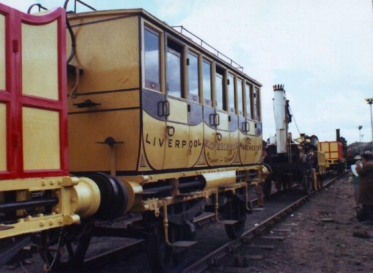"replika pociągu ""Rocket"" Stephensona"