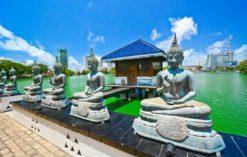 świątynia Seema Malaka w Kolombo, Sri Lanka