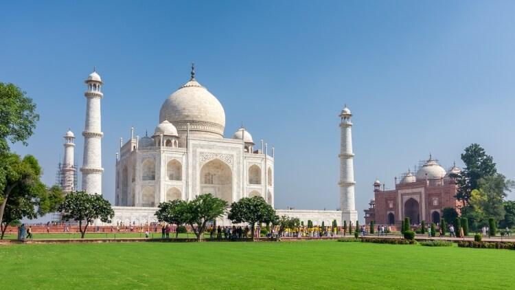 Tadź Mahal w Indiach