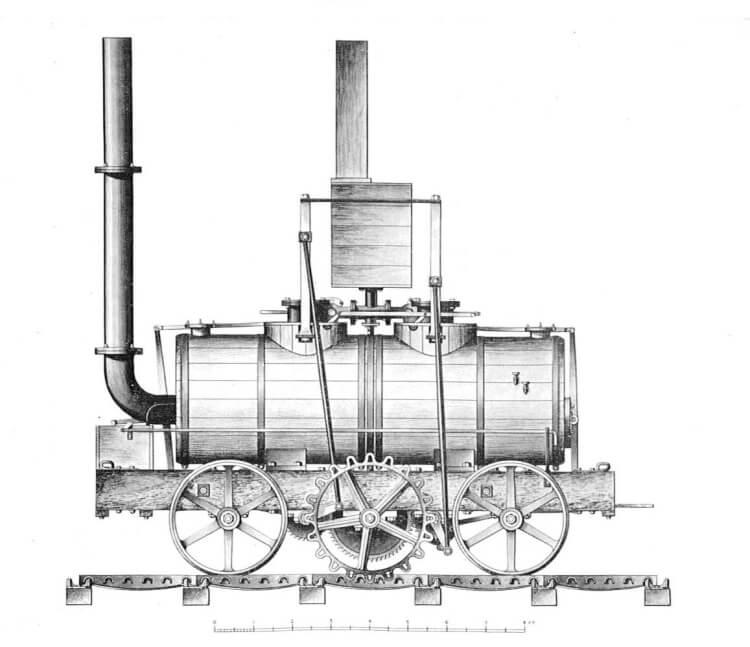 The Salamanca - pierwsza lokomotywa