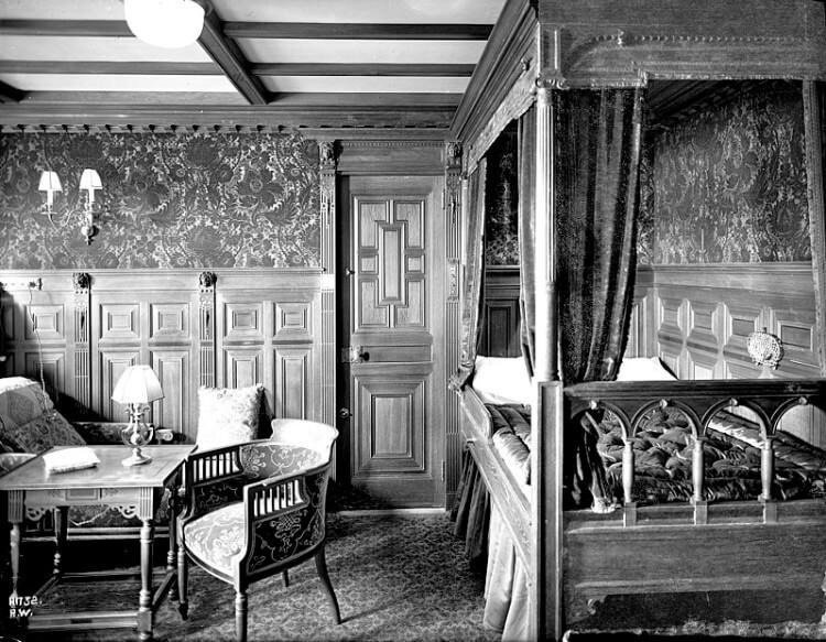 Parlour Suite na pokładzie Titanica