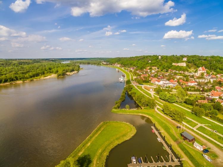 Bulwar Nadwiślański w Kazimierzu Dolnym