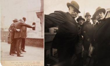 jedno z pierwszych selfie w historii