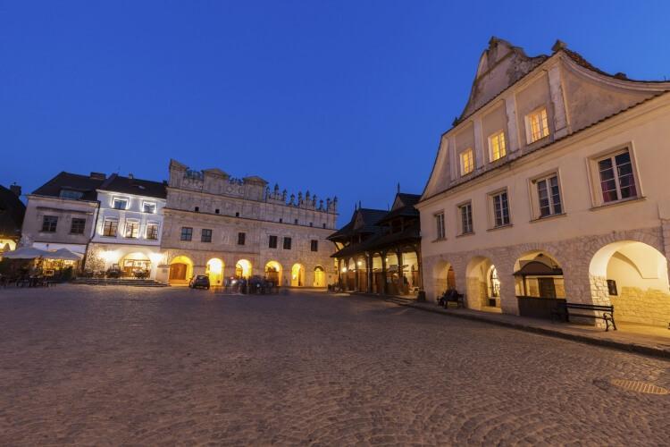 kamienica Przybyłów w Kazimierzu