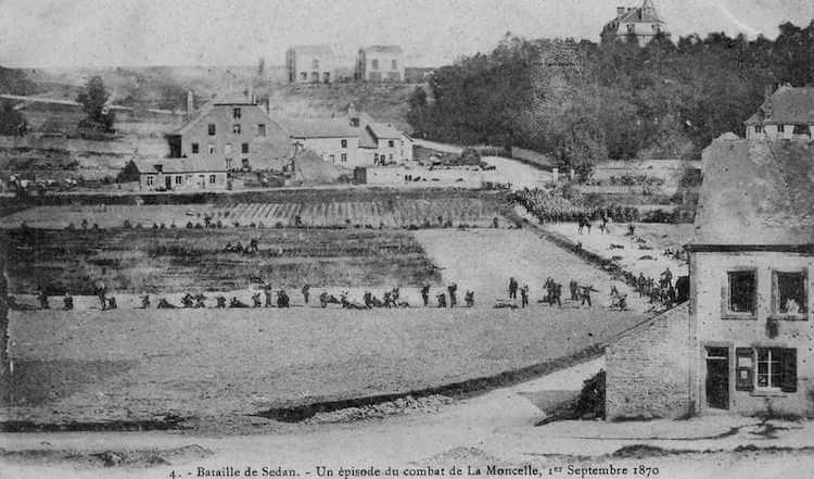 Bitwa pod Sedanem - pierwsze w historii zdjęcie z pola bitwy