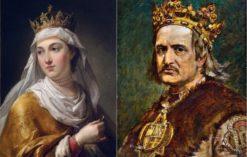 Jadwiga Andegaweńska i Władysław II Jagiełło