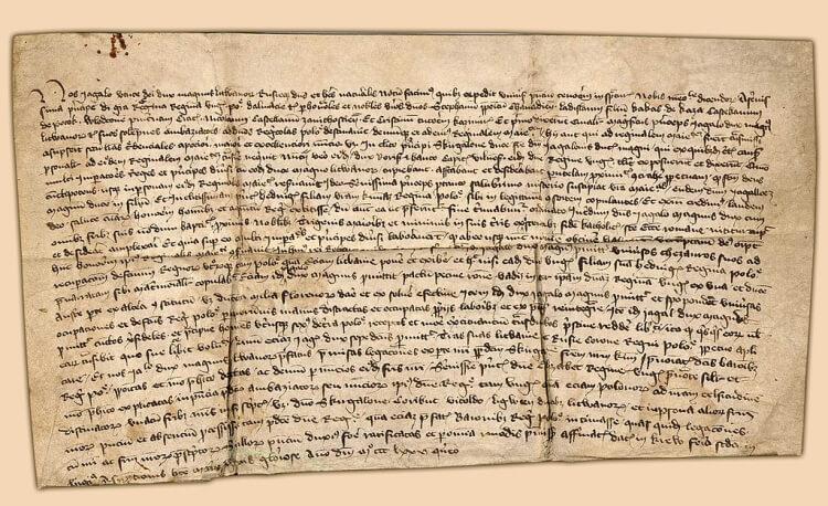 Akt Unii w Krewie z 14 sierpnia 1385 roku