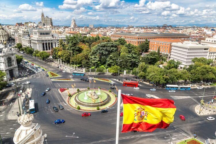 flaga Hiszpanii