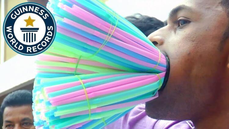 Manoj Kumar Maharana to rekordzista Guinnessa z wykorzystaniem plastikowych słomek