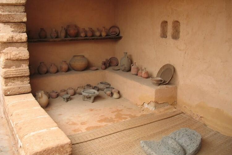 Zrekonstruowany dom Izraelitów muzeum w Tel Awiwie
