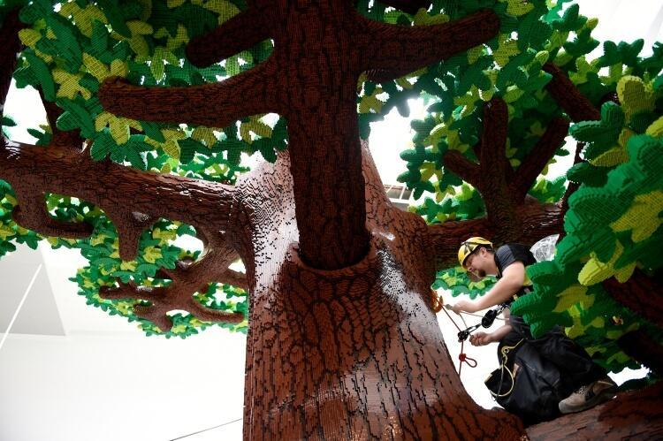 drzewo z klockow lego