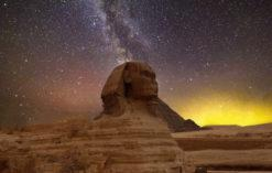 starożytny Egipt Sfinks